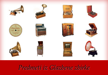 Predmeti iz Glazbene zbirke