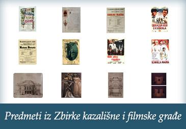 Predmeti iz Zbirke kazališne i filmske građe