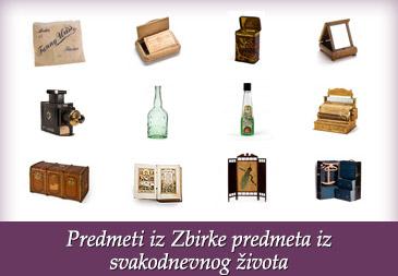 Predmeti iz Zbirke predmeta iz svakodnevnog života