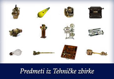 Predmeti iz Tehničke zbirke