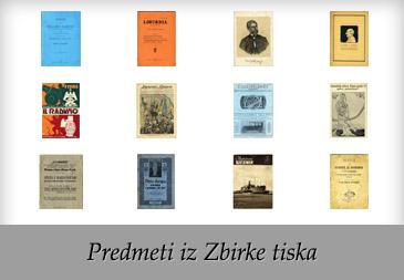 Predmeti iz Zbirke tiska