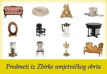 Predmeti iz Zbirke umjetničkog obrta